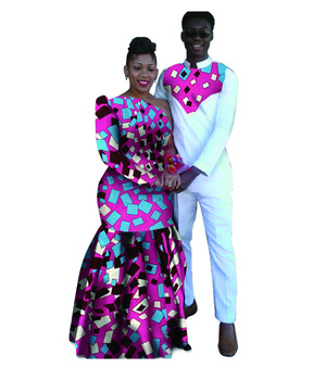 Moda Africana Traje Manga Larga Traje Africano Para La Fiesta - Buy ... 7e8a67bae105