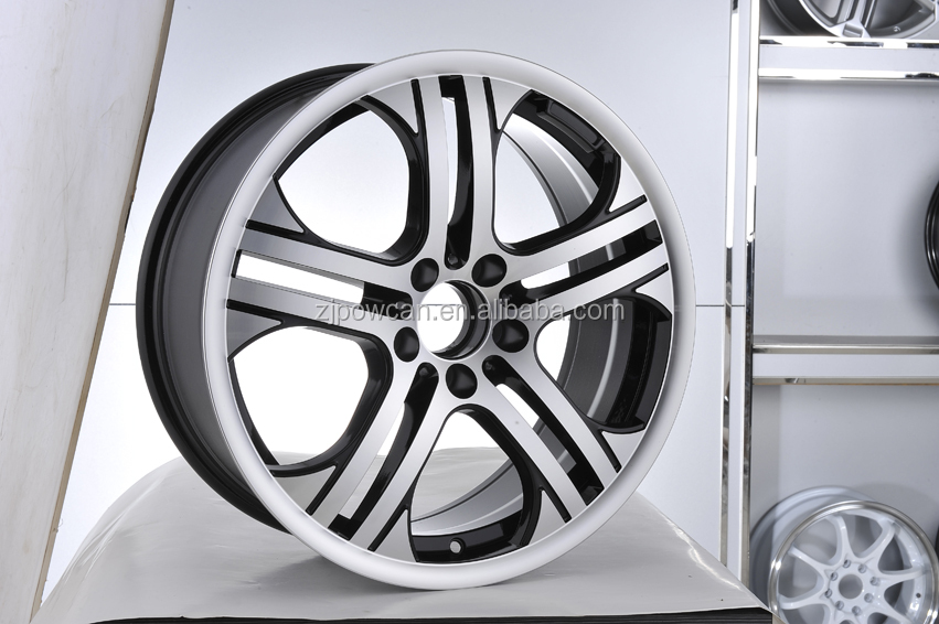 TUV JWL hot replica car wheel rim for mag aluminum alloy wheel adapter 4x100 to 5x114.3 with POWCAN and Baokang produce