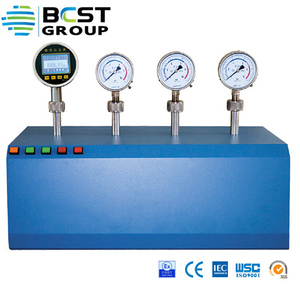 Pneumatic type electric pressure calibration