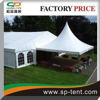 6x6m outdoor pagoda tent waterproof canopy tent with wooden floor & 6x6m Outdoor Pagoda Tent Waterproof Canopy Tent With Wooden Floor ...