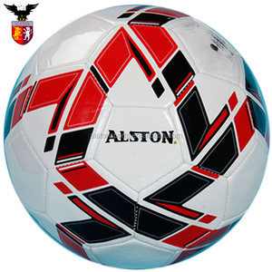 ALSTON PU Customized Football Machine Stitched Promotional Soccer Ball