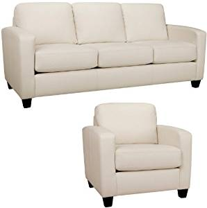 Terrific Buy Sofa And Chair In Classic Soft White Modern Couch Is Dailytribune Chair Design For Home Dailytribuneorg
