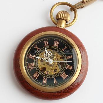 1c4f50726db madeira vintage homens esqueleto erótico mecânica vento mão mulheres relógio  de bolso