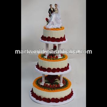 2019 New Design Wedding Decorations Acrylic Cake Stand Cake Rack