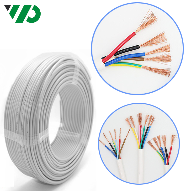 White Coil Electrical Stranded Copper Industrial Wire Coil