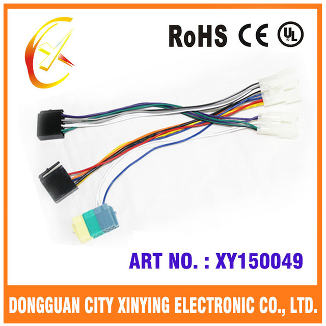 OEM 16 AWG 300v 90 dregree ISO cable assembly for auto