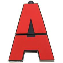 'Aver' Hot Selling Red A Font Plastic USB Memory 128M 256M 512M 1GB 2GB 4GB 8GB 16GB 32GB 64GB Storage Device Best Gift