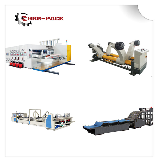 Corruagted Carton Board Production Line