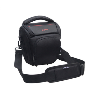 China supplier Nylon Waterproof Compact DSLR Triangle Camera Case Bag Camera Shoulder Bag SLR