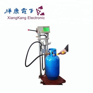 Hot sale 5cbm 2MT lpg skid station filling machine with gas dispenser