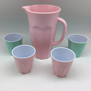 Hot Sell Melamine Ice Water Kettles And Milk Jugs In The US