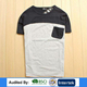 The pocket bike Custom clothes With latest brand cut and sewn t shirt design for men bulk wholesale clothing