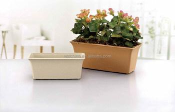 Kunststof Tuin Pot : Rechthoek plastic bloempotten voor tuin decoratie buy rechthoek