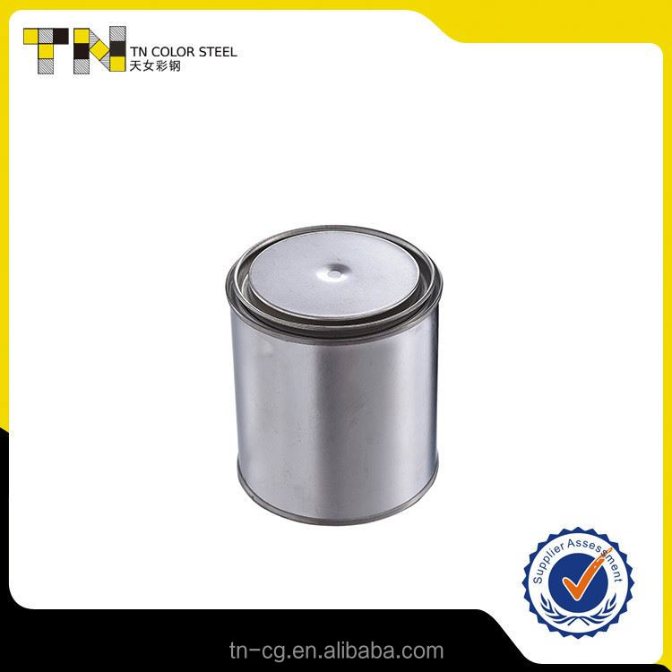 Professional supply super quality round candy cans paint tin