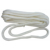White color 20 mm Double Braided Nylon Dock Line Mooring Lines with splice clip