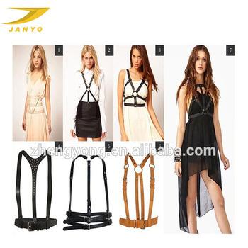 Fashion Popular Full Body Women Leather Harness aa15111f471