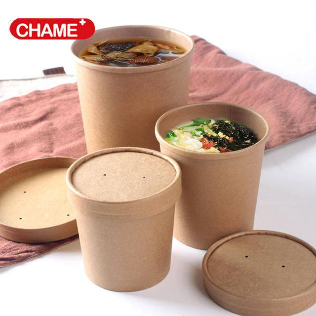 Portable Take Away Cheap Salad Soup Bowl For Food Packaging