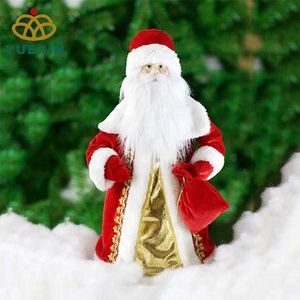 Christmas Decorative Santa Claus with EVA Cone for Gift Candy Container