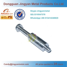 Dongguan OEM fabrication stainless steel electric rotor shaft,precision cnc machining spline shaft