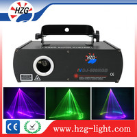 Laser show system stage lighting dj 500MW RGB beam laser light laser projector