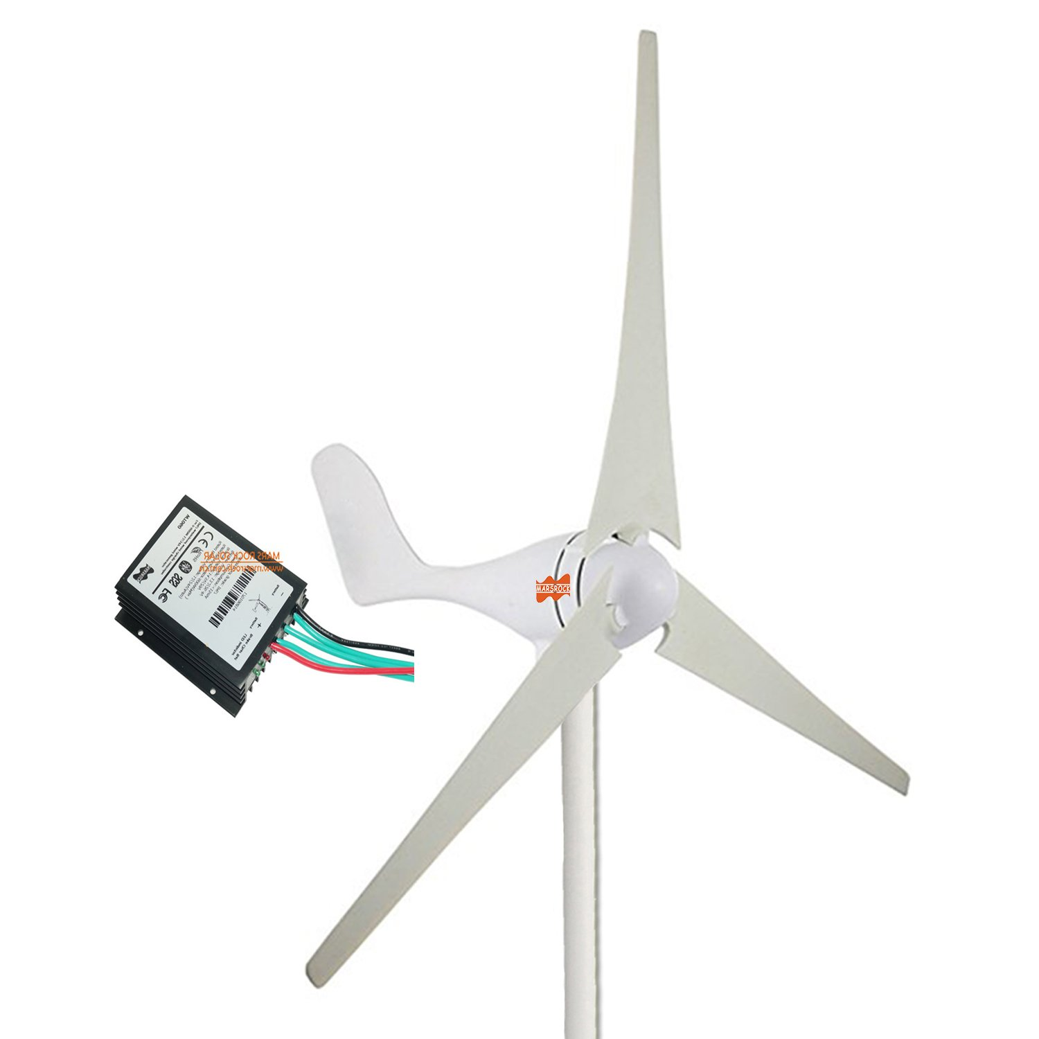 Get Quotations Marsrock Small Wind Turbine Generator Controller Ac 12volt Or 24volt 400w Economy