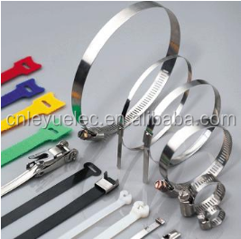SS 304 316 201stainless steel ball lock cable tie wrap 4.6*200