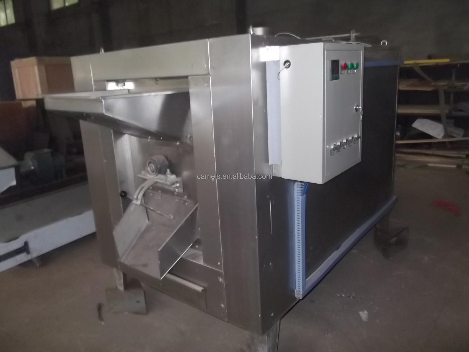 Elektrische Koffiebrander Verwarmingselement Commerciële Pinda Koffiebrander Rotary Drum Moer Koffiebrander
