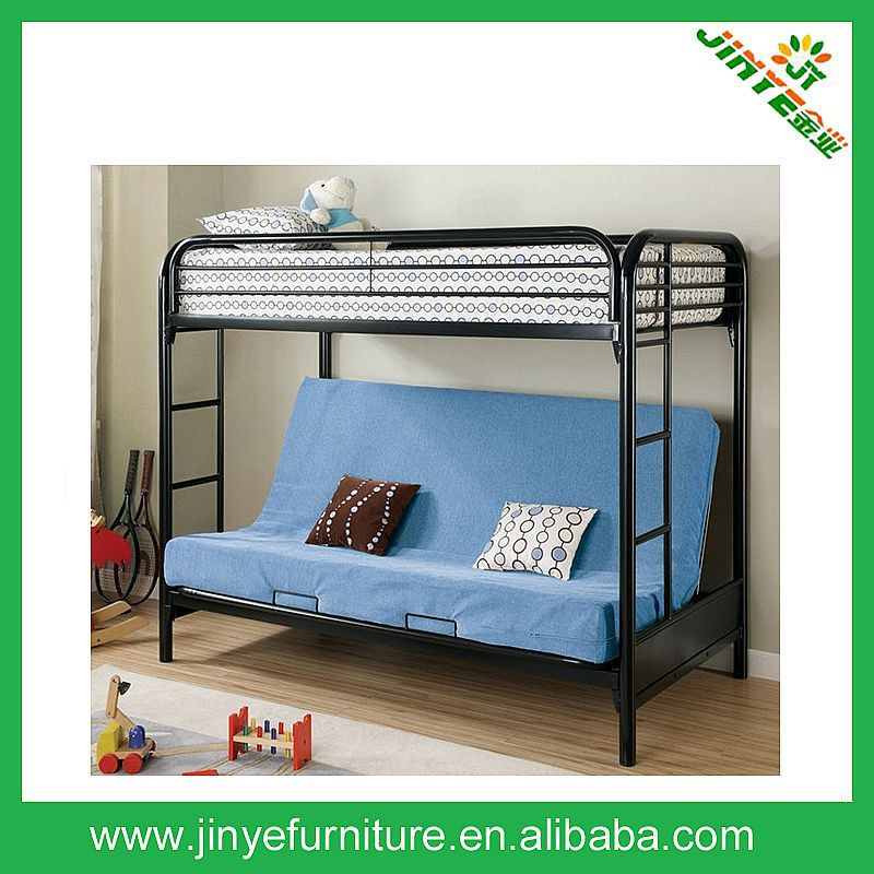 pas cher m tal double futon canap lit superpos pour les enfants lit d 39 enfant id de produit. Black Bedroom Furniture Sets. Home Design Ideas