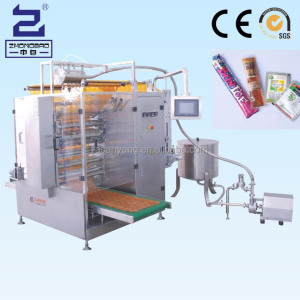 China automatic liquid pure water alcohol sachet filling and sealing machine with CE