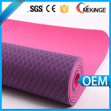Sales promotion custom durable 100% TPE printed yoga mat manufacturer by latest technology-lightweight and high density