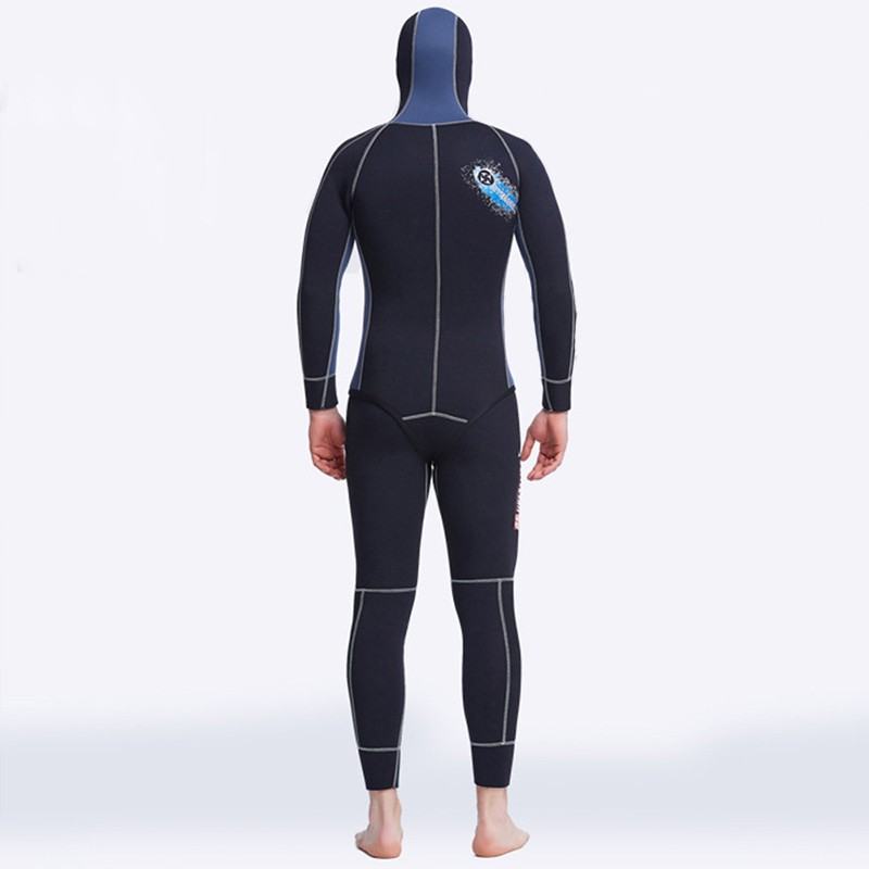 5mm Men's Scr Neoprene Keep Warm Underwater Diving Wetsuit ...