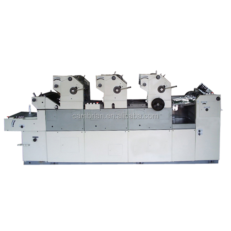 High quality used 4 colour mini offset printing machine price with best price