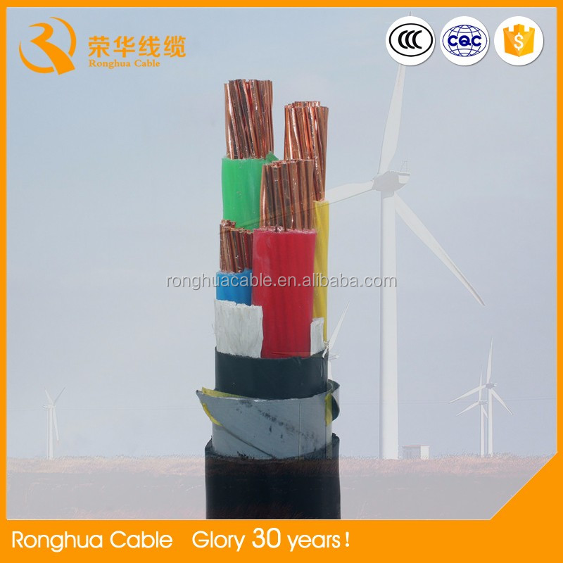 Low Voltage Type and HALOGEN FREE, XLPE,PVC Insulation Material Power Cable
