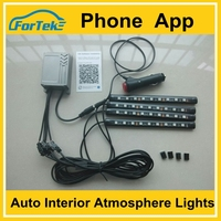 bluetooth led strips car Interior lights