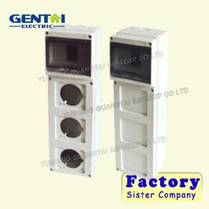 HAG II / III hot seller,best quality surface mounted,plastic electrical enclosure Distribution board