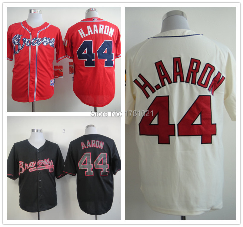 13feb6f68 Free Shipping Men S ... Regular Price  21.00. Special Price  21.00. Atlanta Braves  Hank Aaron Throwback Jerseys