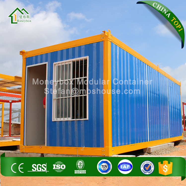 20 feet steel structure Luxury Light Steel Framing prefabricated container house