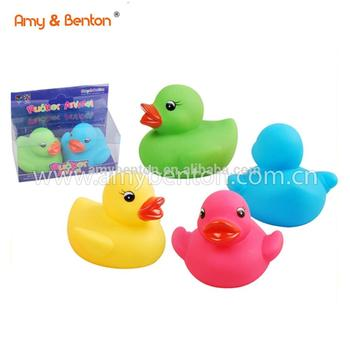 Rubber Duck Promotional Baby Shower Favors Decoration For Kids
