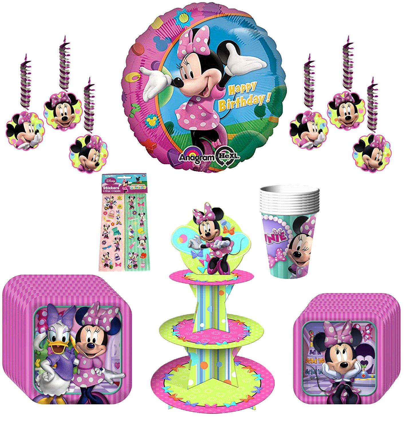 Disney Minnie Mouse Bow-tique Dream Party Pack 40pc