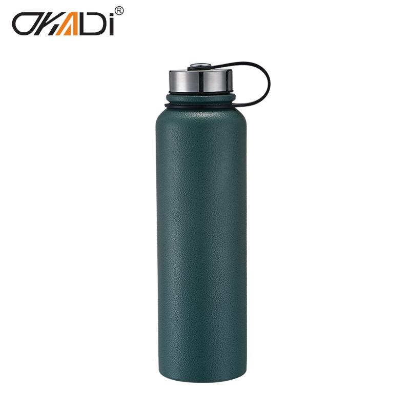 a242ec2501 camping stainless steel sport bottle wholesale bpa free water vacuum flask  stainless steel flask water bottle