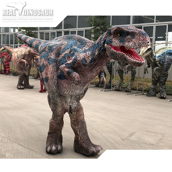 Movie Prop Robot Dinosaur Adventure Game Dinosaur Puppet