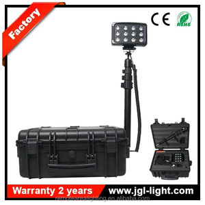 self contained light towers portable power source High flux LED High Quality Model RLS936L 12v retractable led work light