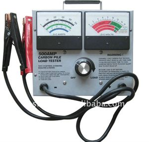 New!!! Dual Gauge 500AMP car battery tester