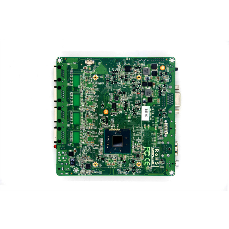 wholesale Celeron J1800 with 4 gigabit Ethernet Ports Motherboard, MINI ITX 4 LAN Motherboard With SIM Slot/WIFI/3G