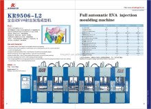 EVA shoes injection machine