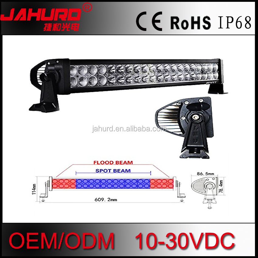 "Off Road 4WD 120W 21.5"" Led Spot Flood Combo Alloy Work Bar Diving Light Lamp"