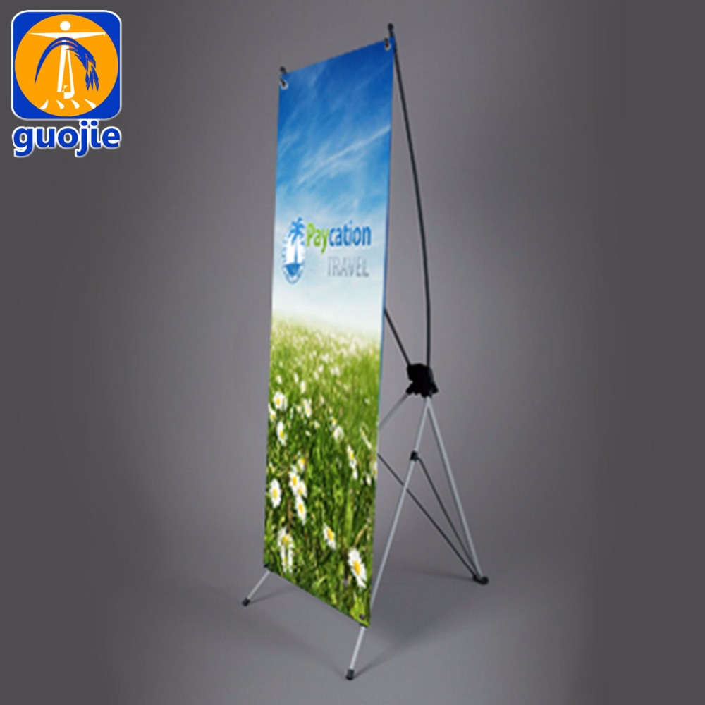 cheap banner poster advertising X banner stand