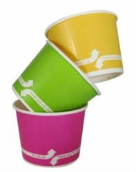 16oz. Colored Frozen Yogurt Cups 1000pcs/Case