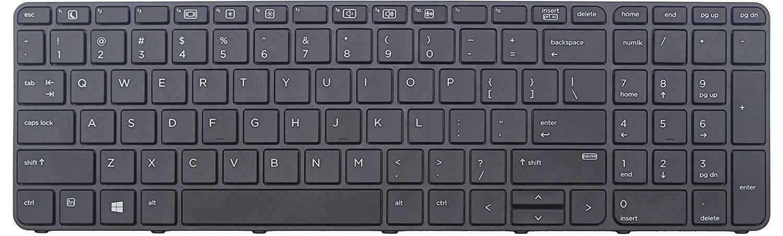 senlinxiaowu Original New for HP ProBook 450 G4 455 G4 470 G4 US Keyboard with Frame