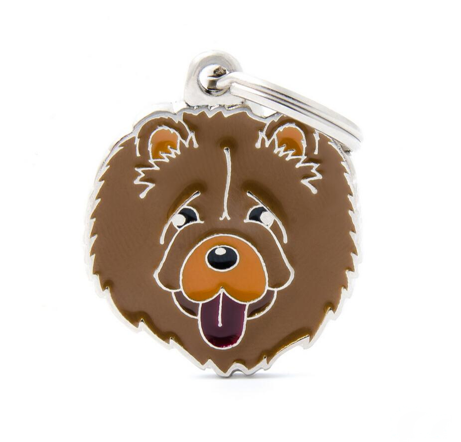 Metal Promotion(CHOW CHOW) id pet tags for dogs